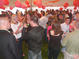 The Class of 2003 celebrates their first reunion on Chapel Green.<em><span style=font-size:9pt;>&nbsp;Credit: Barb Nagy</span></em>