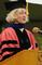Martha Nussbaum, the Ernst Freund Distinguished Service Professor of Law and Ethics at the University of Chicago, gives the Commencement address.<em><span style=font-size:9pt;>&nbsp;Credit: Jon Crispin</span></em>