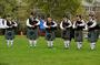 The Manchester Pipe Band plays during the processional.<em><span style=font-size:9pt;>&nbsp;Credit: Jon Crispin</span></em>