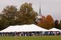 The Harvestfest tent was a big draw throughout the afternoon.<em><span style=font-size:9pt;>&nbsp;Credit: Bob MacDonnell</span></em>