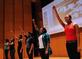 Students perform Jan. 28 at a program honoring Dr. Martin Luther King Jr.
