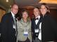 Barbara Shattuck Kohn '72, second from left, spoke March 22 at a Distinguished Alumni Event in New York. She is founding principal and managing director of Shattuck Hammond Partners Inc. With her are Daniel Anstey '98, Erik Brockmeyer '97 and Sara Anstey.