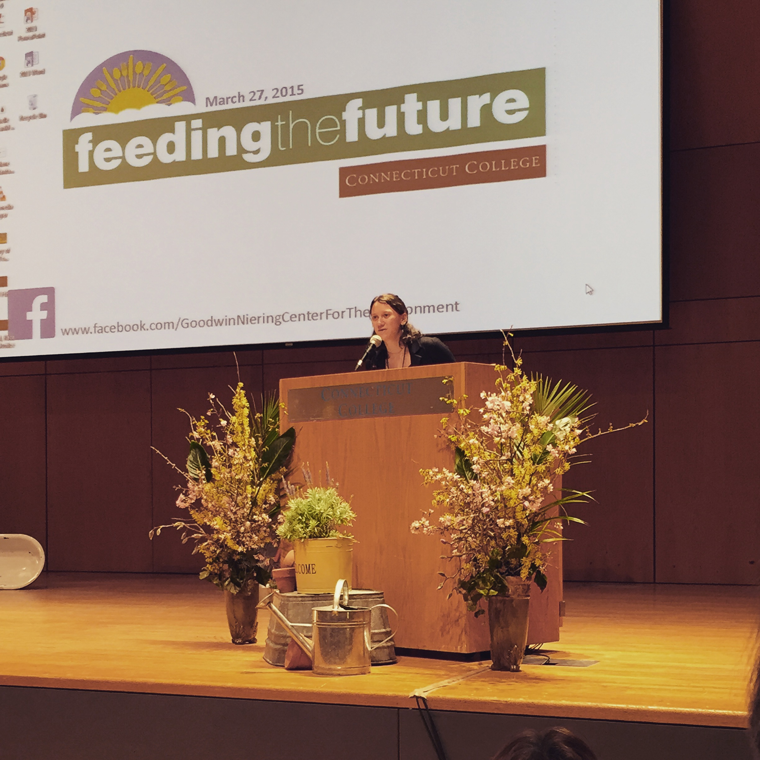 Introducing Marlene Zuk at the Feeding the Future Conference