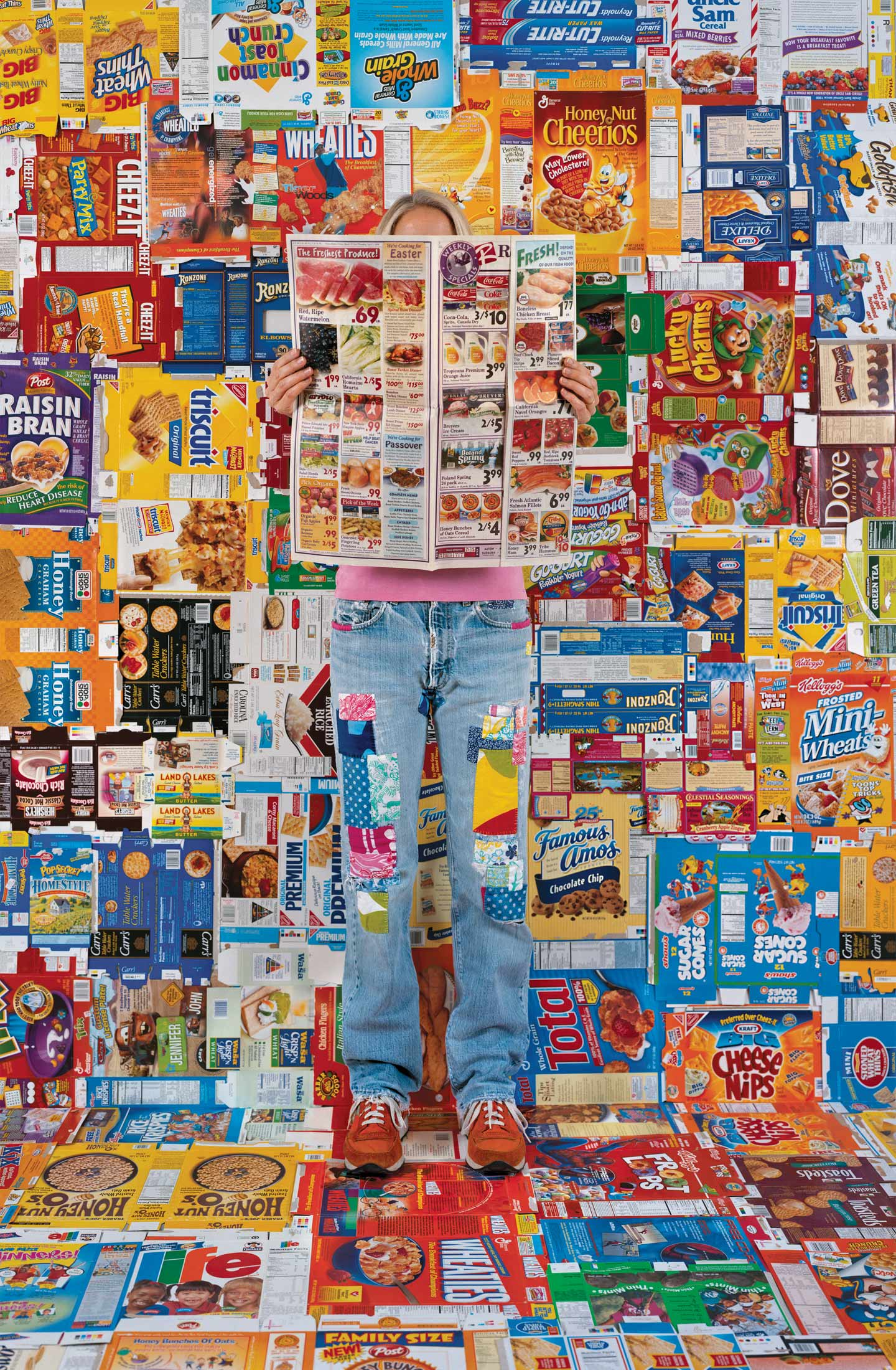Lost in My Life (Boxes), 2009. Archival pigment print. © Rachel Perry. Courtesy of the artist and Yancey Richardson Gallery.