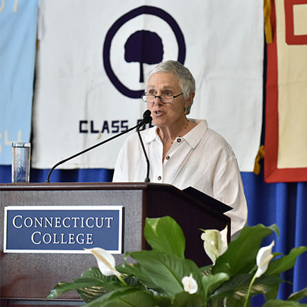 Sykes Society Luncheon Address by Ellen Hofheimer Bettmann '66 P'91