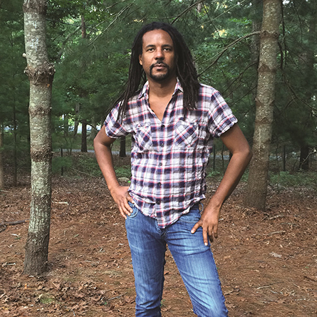New York Times best-selling novelist Colson Whitehead. Photo by Madeline Whitehead.