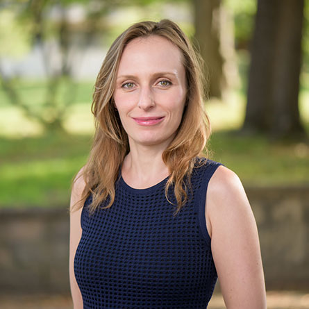 Anna Vallye, Assistant Professor of Art History and Architectural Studies