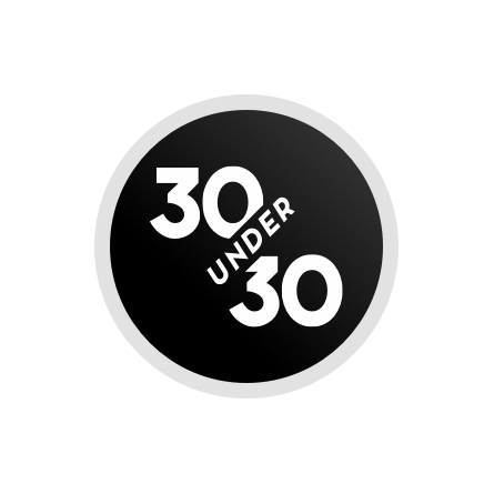 The 2019 Forbes 30 under 30 logo