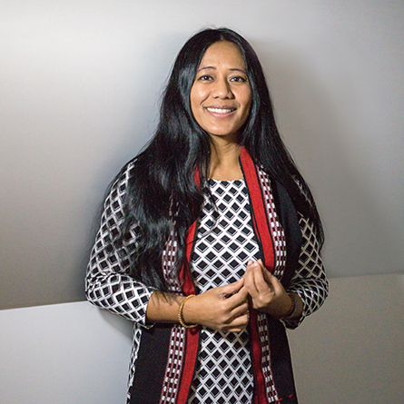 Humanitarian, author and activist Binalakshmi Nepram