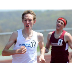Mike LeDuc '14 won the 5,000 meters at the 2013 New England Division III Track and Field Championship.