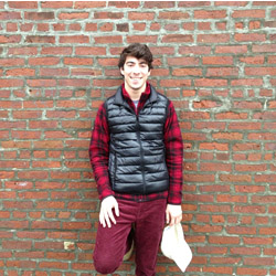 Matt Safian '15 won a design fellowship from a famous Silicon Valley venture capital firm.