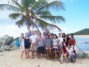 Science Leaders in Vieques, Puerto Rico, 2008, where they studied bioluminescence with Professor Zimmer.
