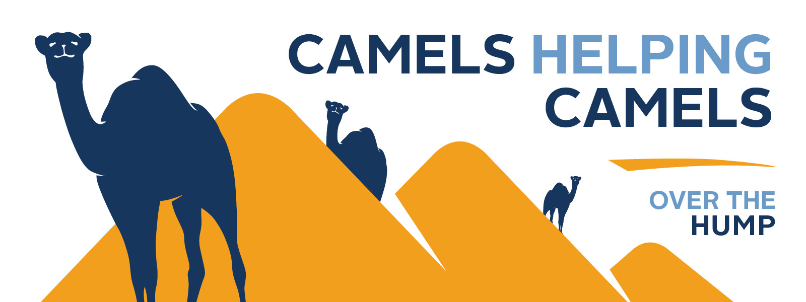 Camels Helping Camels Graphic
